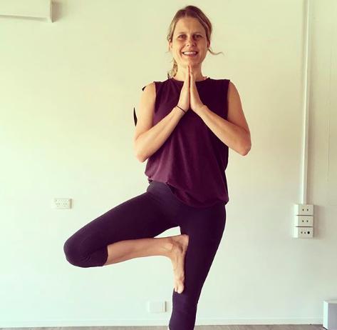 TriBalance yoga teacher bio Laura Dean tree pose