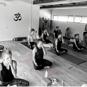 TriBalance yoga class alternate nostril breathing, values inclusiveness
