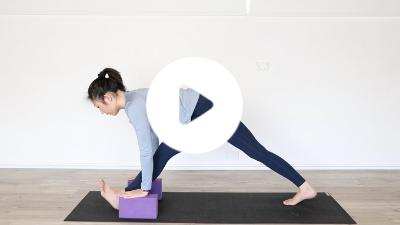 TriBalance TV yoga basics class foundations of flow with Mel Liao