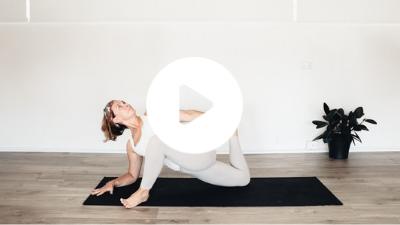 TriBalance TV deep hip stretch release with Sheri Carpenter