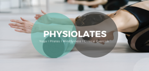 Woman using foam roller in physiolates class in North Brisbane