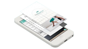 Picture of tribalance app downloaded on iphone for quick and easy class and appointment bookings.